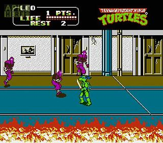 teenage mutant ninja turtles 2the arcade game