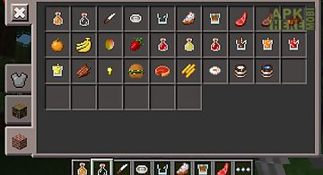 Food mod for minecraft