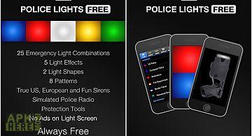 Police lights free