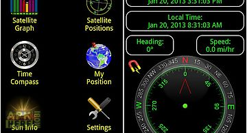 Satellite check - gps status