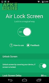 air lock screen - open screen