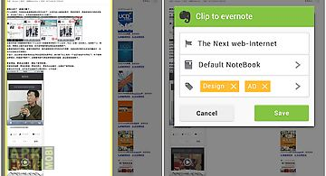 Evernote for next browser