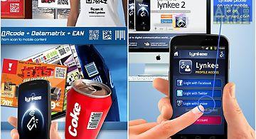 Lynkee qr code barcode scanner