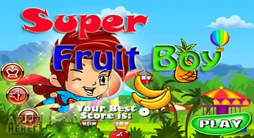 Super fruit boy