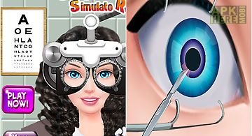 Cataract eye surgery simulator