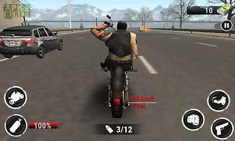 highway racing: stunt rider. rash