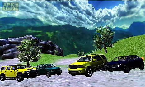 offroad suv drive game