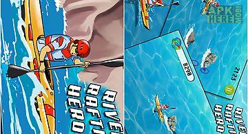 River rafting hero