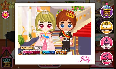 fashion judy: princess&prince