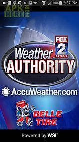 Fox 2 weather for Android free download at Apk Here store