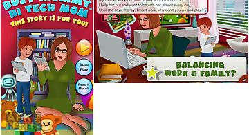 Hi-tech mom family storybook