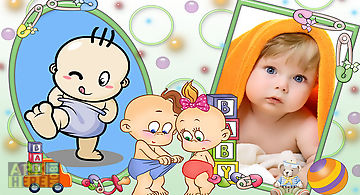 Baby awesome photo frames