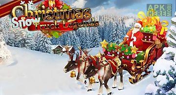 Christmas snow: truck legends