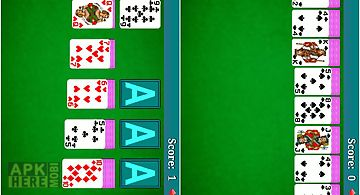 Solitaire pack card game