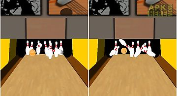 Bowling alley 3d