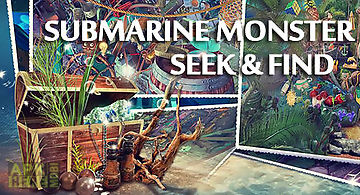 Hidden objects: submarine monste..