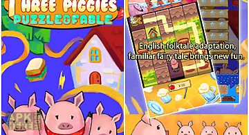 Three piggies: puzzle & fable