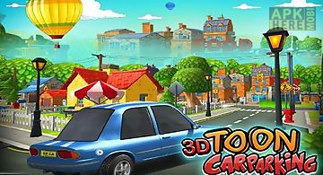 3d toon car parking