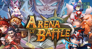 Arena of battle