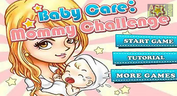 Baby caremommy challenge