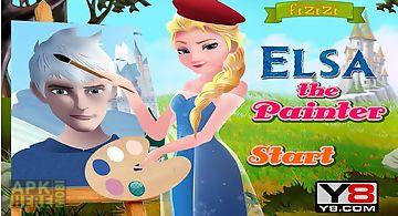 Elsa the painter