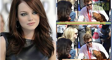 Emma stone find differences game..