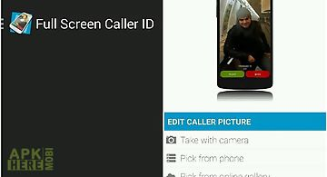 Full screen caller x for Android free download at Apk Here