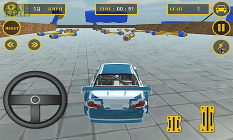 grand theft car sky auto stunt