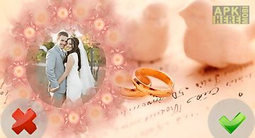 Wedding frames of love