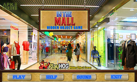 free hidden object games - in the mall