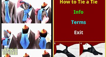 How to tie a_tie