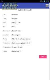 scheduled me - organize your schedule
