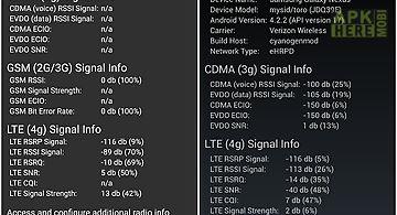 Advanced signal status