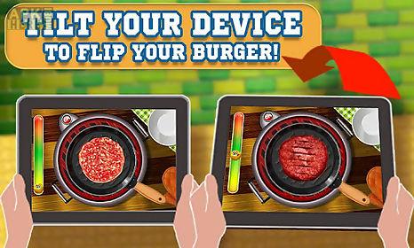 burger maker crazy chef