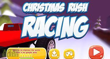 Christmas rush racing