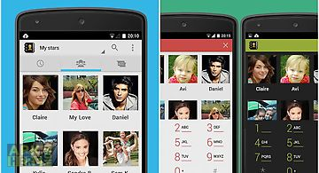 Contacts dialer