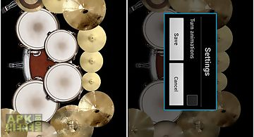 Drum set: drums