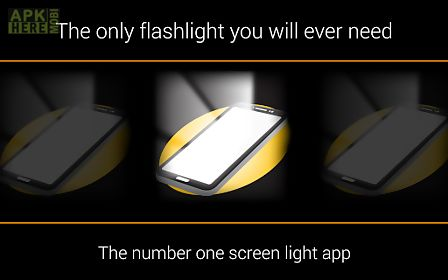 screen flashlight