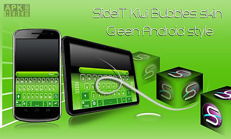 slideit kiwi bubbles skin