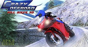 Crazy offroad hill biker 3d