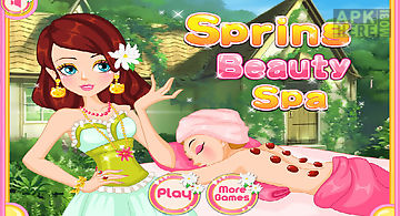 Spring beauty spa