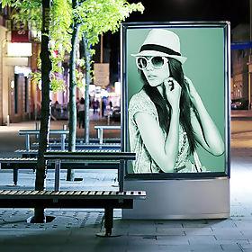 animated hoarding frames