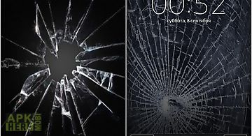 Cracked screen mega pool