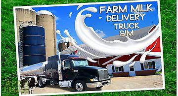 Farm milk delivery truck sim