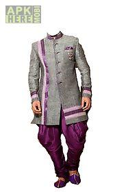 man wedding photo suit