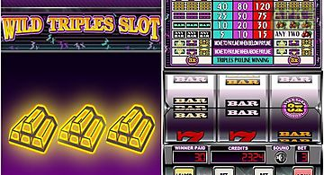 Wild triples slot: casino