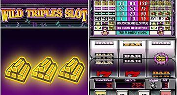 Wild triples slot: casino