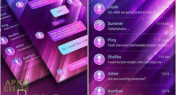 (free) go sms gradient theme