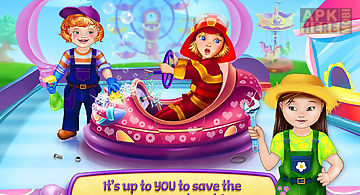Baby heroes: amusement park
