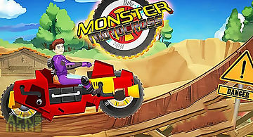 Monster bike motocross